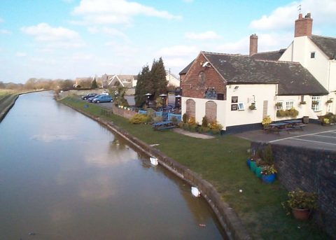 Photo of Broughton Arms by canal